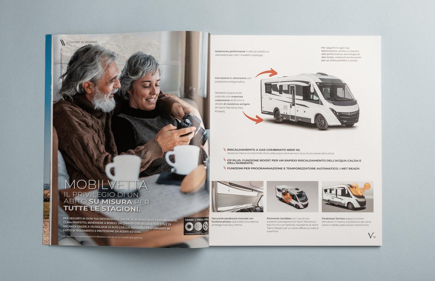 pagina del catalogo mobilvetta foto lifestyle